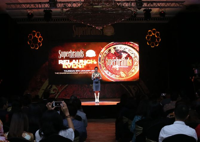 Superbrands Indonesia relaunch event