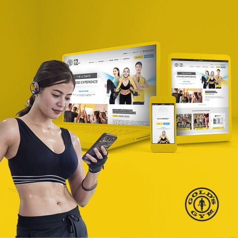 Gold's Gym Indonesia Digital Activation