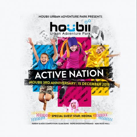 Houbii 3rd Anniversary Event Concept & Digital Publication